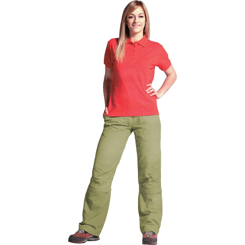 Kaiser24 Damen Zipp Off Outdoorhose Trekkinghose Freizeithose Caprihose Zipp-Off Shorts