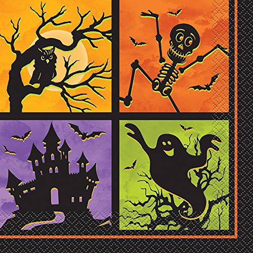 Haunted House Halloween Party Napkins, 20ct (Halloween Haunted House Themes)