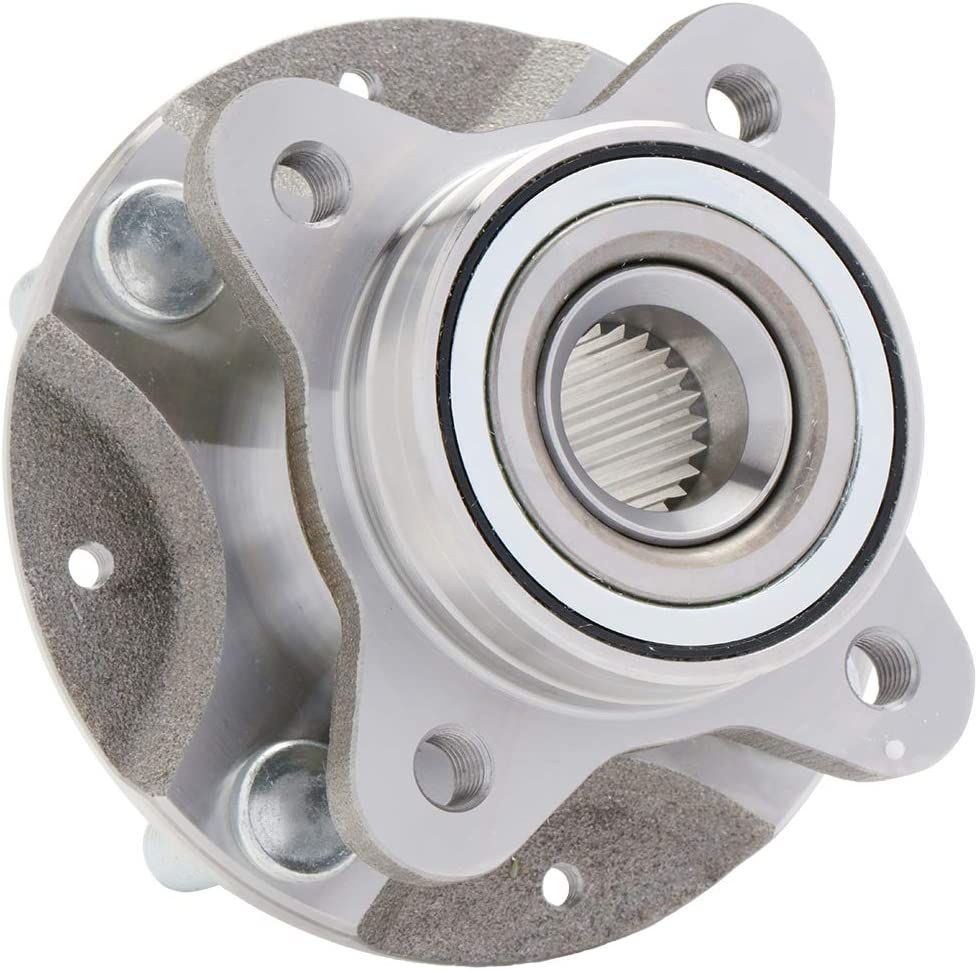 Bargain 1-Pack 513161H - FRONT Pre-Pressed Hub Safety and trust Assembly Wheel Bearing