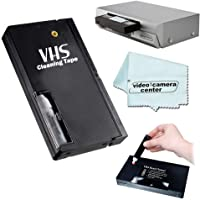 VHS Video Wet Head Cleaner Tape + 1 VCC113 Microfiber