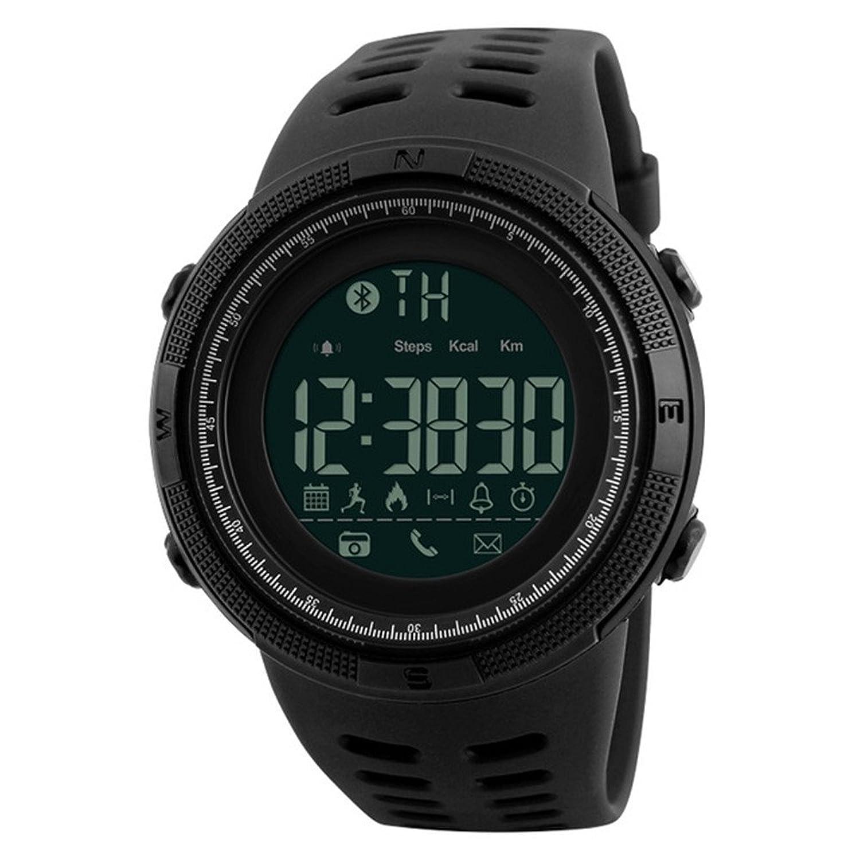 MGAEメンズスマート腕時計クロノカロリー歩数計multi-functionsスポーツウォッチアラームデジタル腕時計 B07DKXP94J