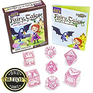 Imagination Generation Story Time Dice: Fairy Tales - Magically Shimmers