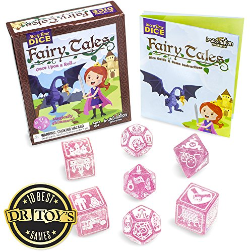 Story Time Dice: Fairy Tales - Magically Shimmers! by Imagination Generation by Imagination Generation