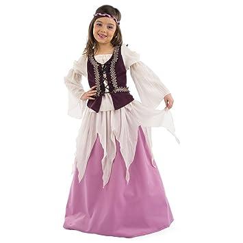 Limit Sport - Disfraz medieval de Julieta para niña (MI485 ...