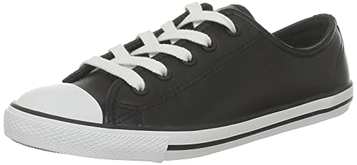 Converse Women's Chuck Taylor All Star Dainty Ox Black Casual Shoe 8 Women US