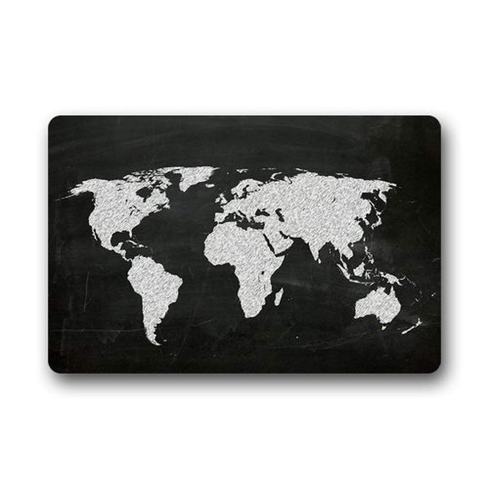 7de20758ee023 Uosliks Door Mats Personalized Fashion Art Print World Map on ...