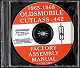 1965-1968 Oldsmobile CD-ROM Assembly Manuals