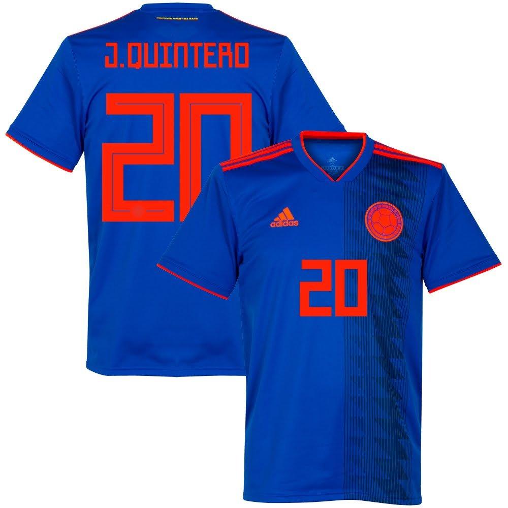 Player Print - adidas Performance Kolumbien Away Trikot 2018 2019 + J.Quintero 20
