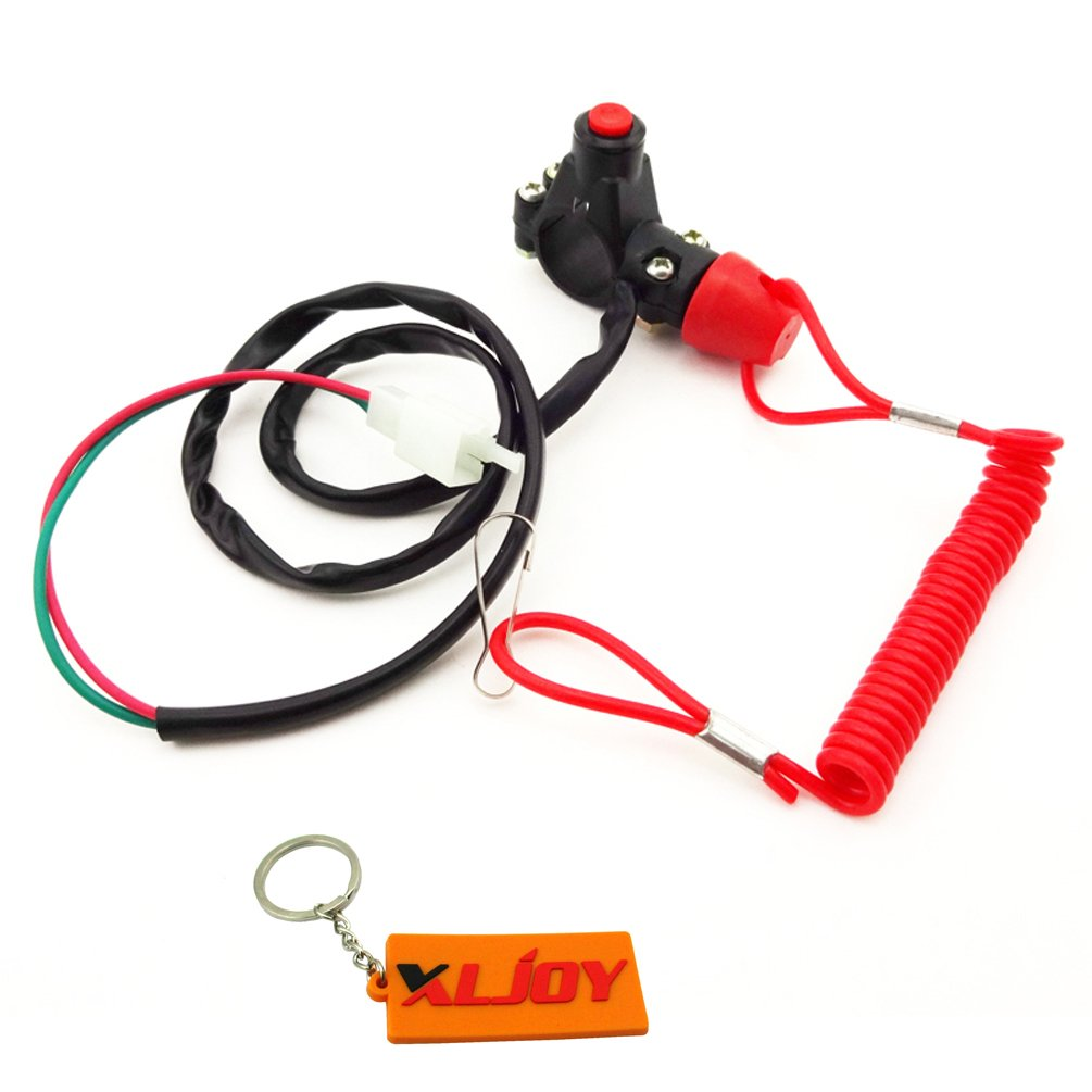 Xljoy Tether Safety Engine Stop Kill Switch For Chinese 43cc Mini Bike Wiring Diagram Dirt Atv Quad Pocket Automotive