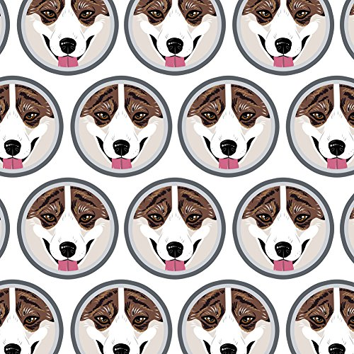 Premium Gift Wrapping Paper Puppy