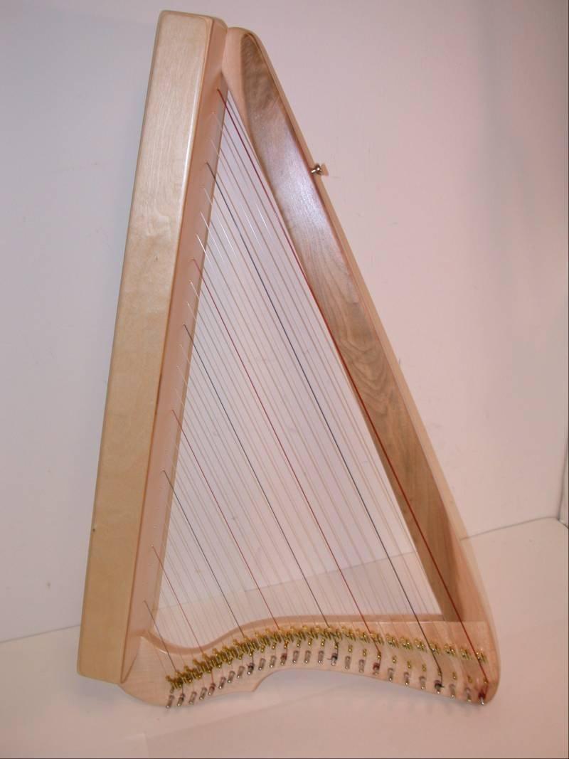 Harpsicle Harps, FULLSICLE MAPLE, 26-String 33'' Lap Harp Fullsicle - Maple