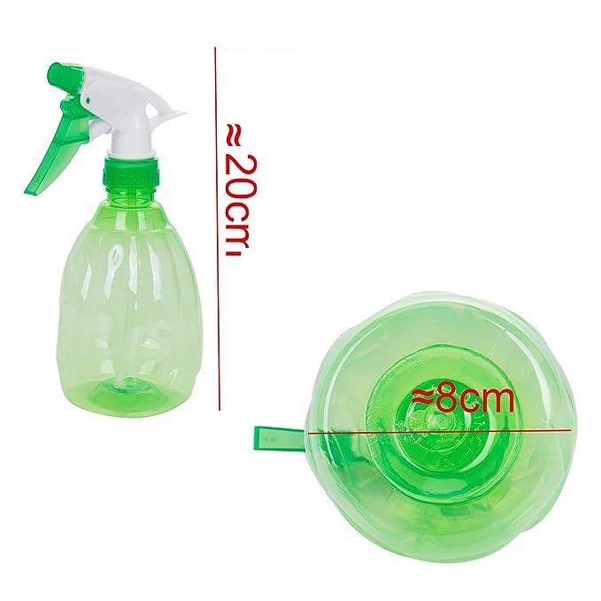 TOOGOO 500ML Botella rociador de plastico vacia Rociador de jardin de limpieza de riego (verde): Amazon.es: Bricolaje y herramientas