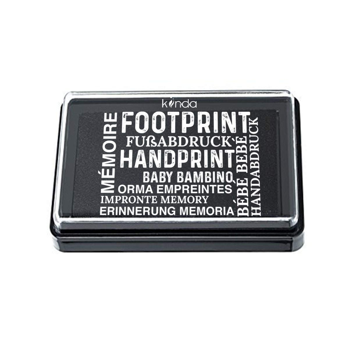 Acid-Free Smudge-Proof Designs Baby Ink Pad 100/% Non-Toxic Green Print Stamps Reusable Feet /& Hands Stamps Handprint /& Footprint Newborn Kit Ideal Family Memory