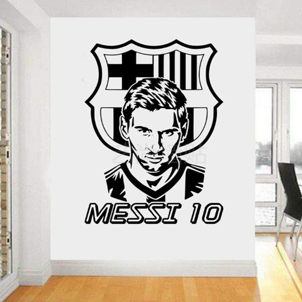 TOBOOY Messi Jugador De Fútbol Arte Tatuajes De Pared Club De ...