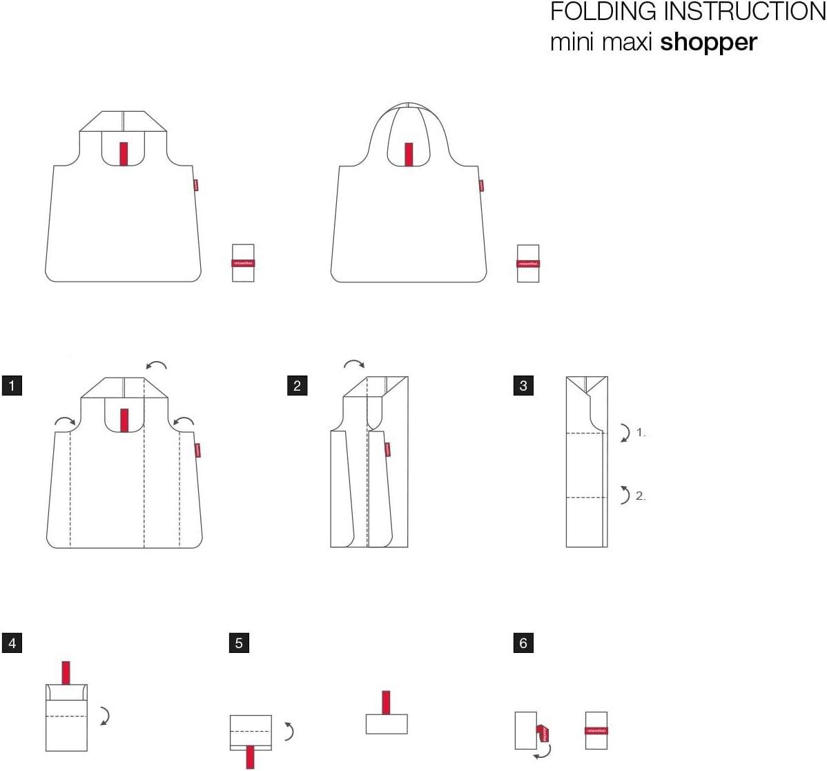 Reisenthel Mini Maxi Shopper Borsone 12 cm Wool