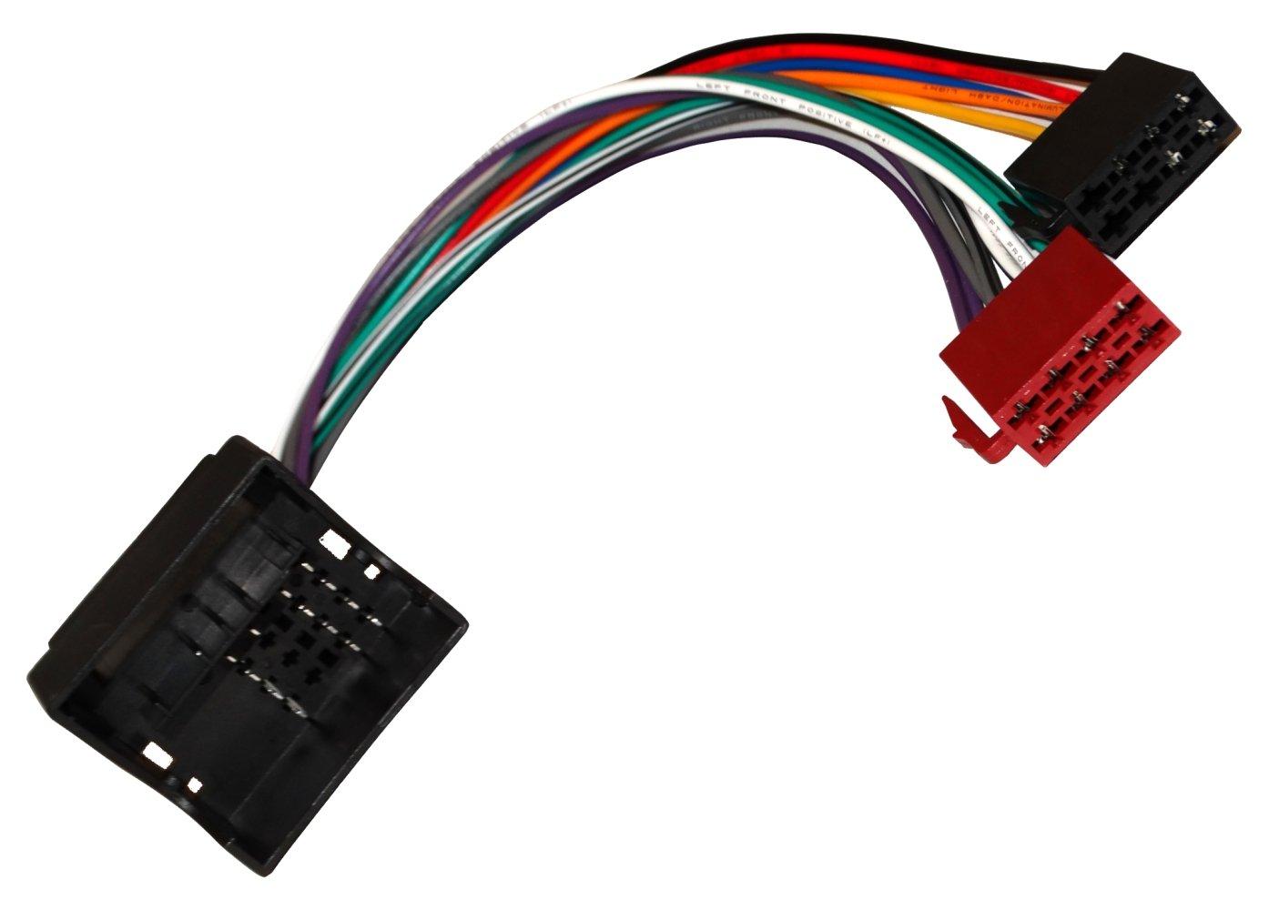 Aerzetix C4576 Adaptateur Fiche ISO Faisceau pour Autoradio Aerzetiks Eood