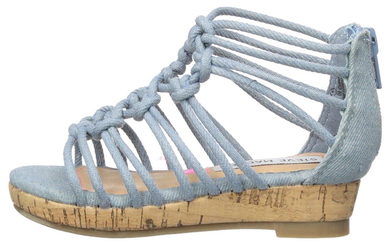Steve Madden Kids TWISTFUL Wedge Sandal TWIS01S7