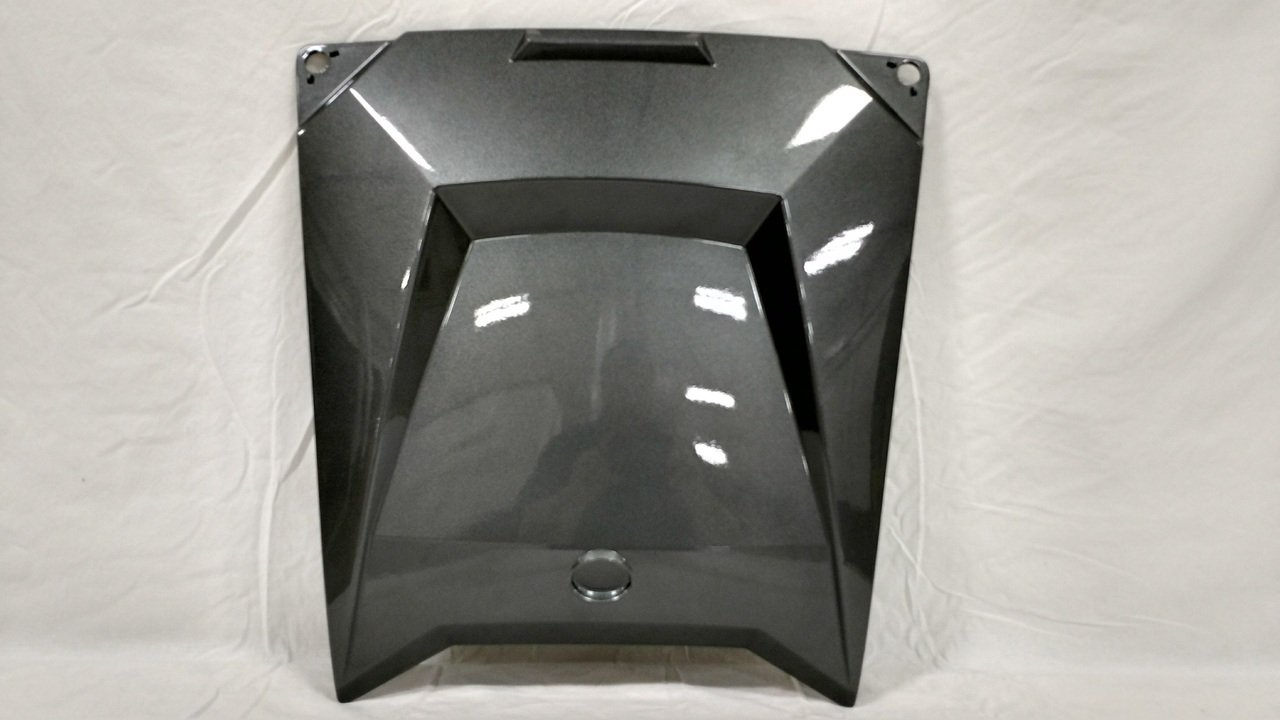 Amazon.com: Polaris RZR Center Access Hood - S.S. Gray - 5438581-553: Automotive