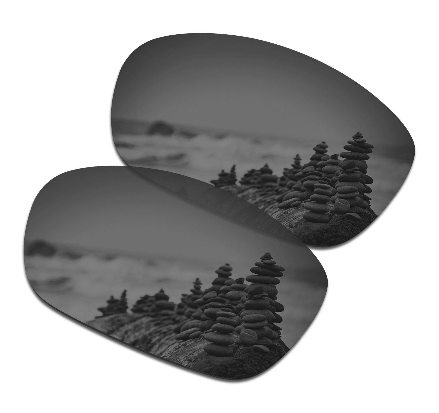 SmartVLT Men's Black Chrome Replacement Lenses for Oakley Ten X Sunglass by SmartVLT