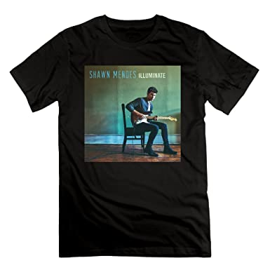 0102b847 Amazon.com: Men's Shawn Mendes Illuminate Treat You Better Like This Don't  Be A Fool T-shirt: Clothing