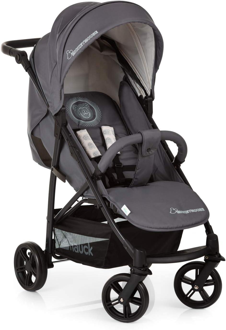 Hauck Rapid 4X Silla de paseo ligera desde nacimiento hasta 25 kg, Niños, Gris