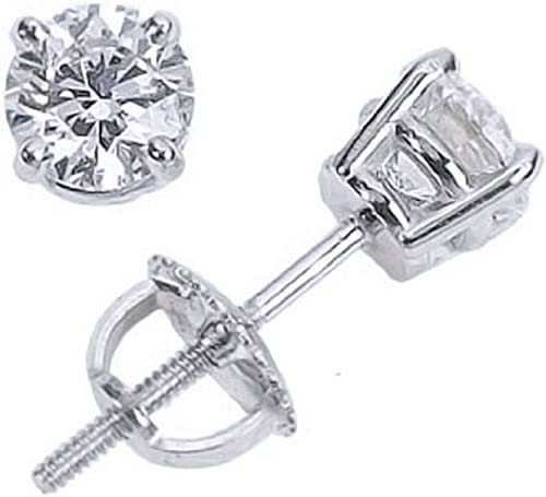 R 18k Replacement Screw Backs For Diamond Stud Earrings Solid Gold Y W