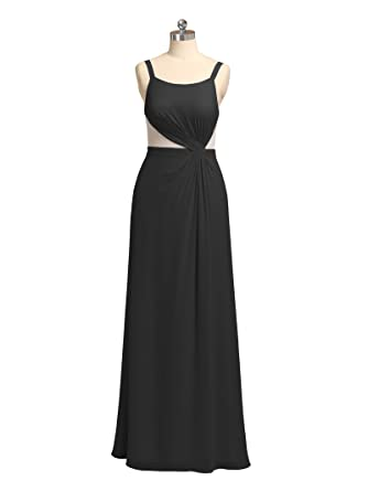 Alicepub Maxi Chiffon Bridesmaid Dresses Long Formal Event Dress For