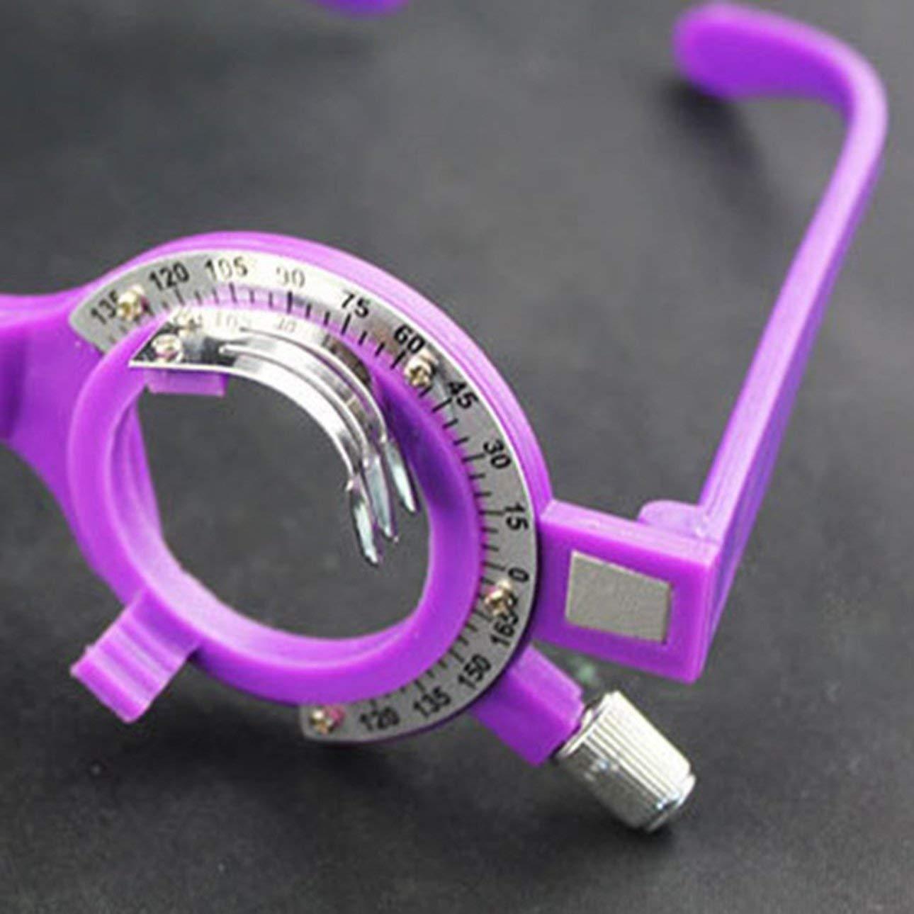 Liobaba Adjustable Optical Trial Lens Frame 52-70mm PD Eye Optometry Optician Plastic Eyeglasses Frame Eyeglasses Accessories