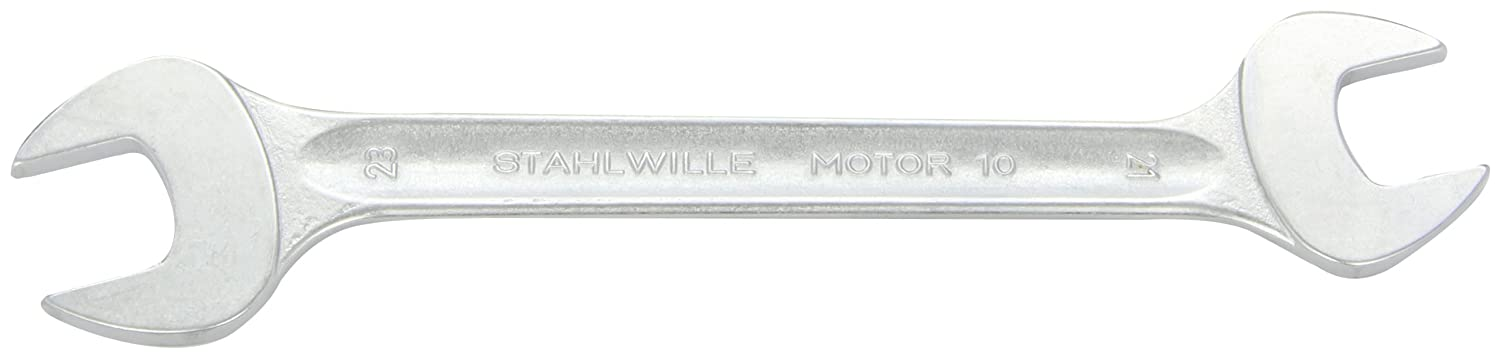 Stahlwille STW1016X17 16 x 17 mm Double Open Ended Spanner - Silver 10-16X17