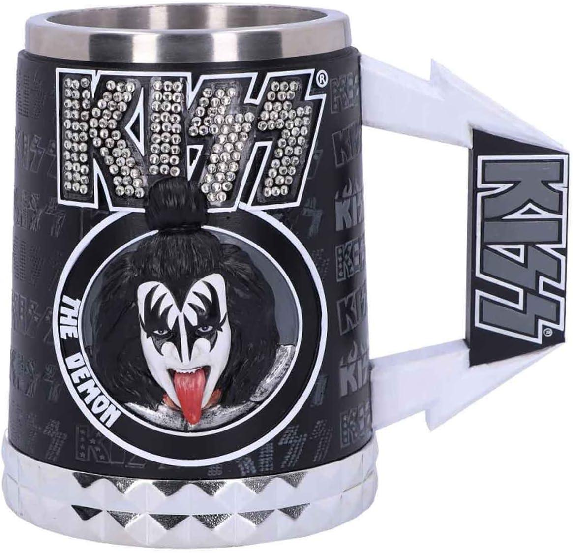 Kiss Tankard The Demon Gene Simmons Band Logo Nue offiziell Glam Range Boxed