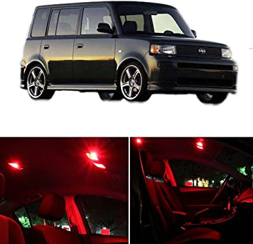 2008-2015 Scion xB Red Interior LED Lights Package Kit