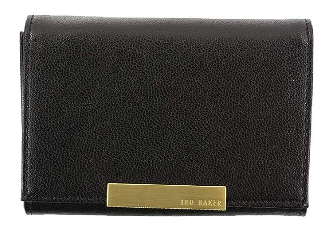 e00ef2f7ecc Ted Baker Rana Medium Black Leather Purse in Gift Box: Amazon.co.uk: Luggage