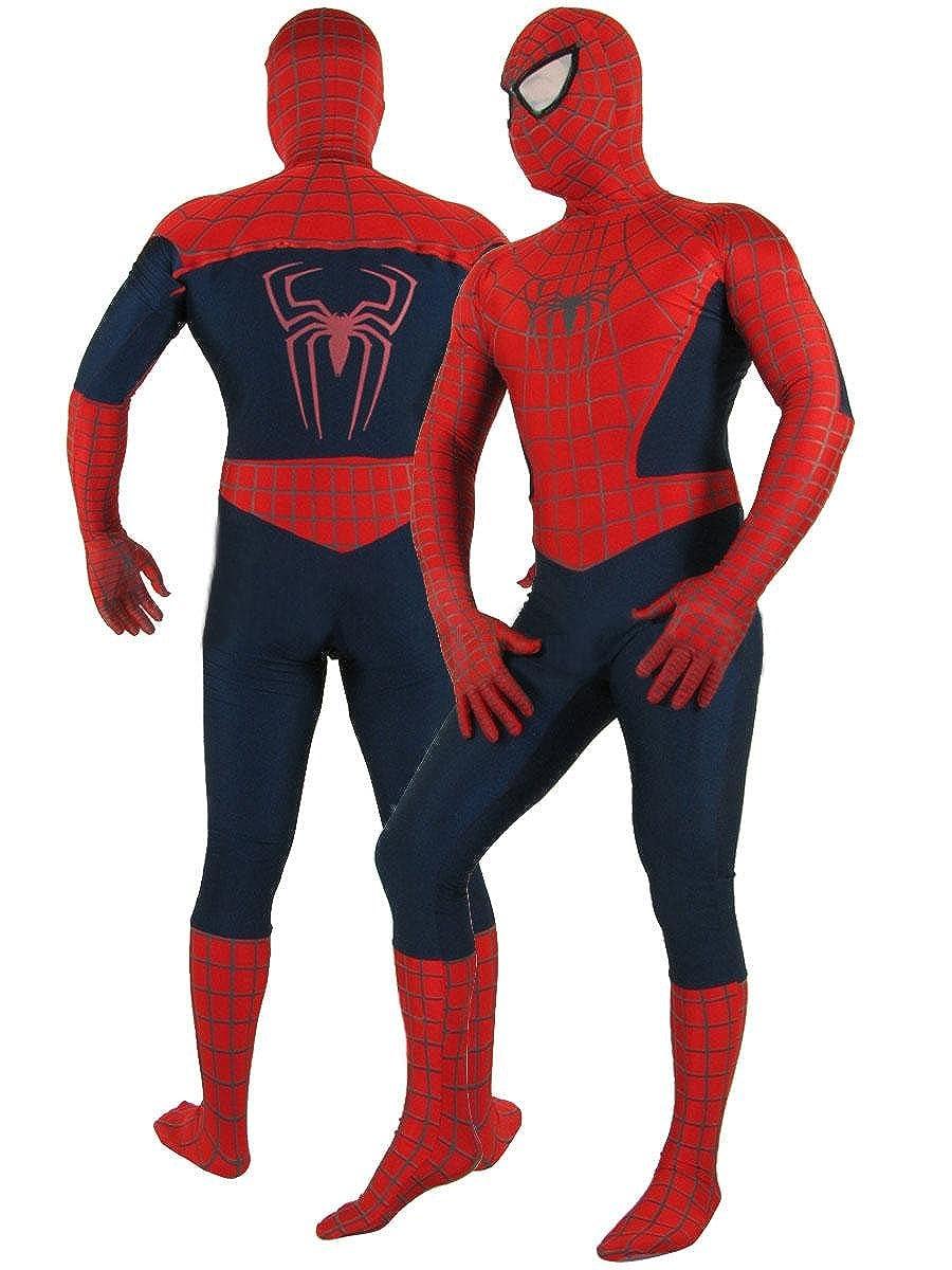 Super Deluxe disfraz de adultos con Spider-Man fundas de ...