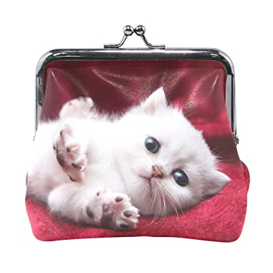 Amazon.com: Rh Studio - Monedero de gatito con bonito ...