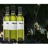 Valdecuevas Verdejo, Caja de 3, Vino Blanco, añada 2016 750 ml x3