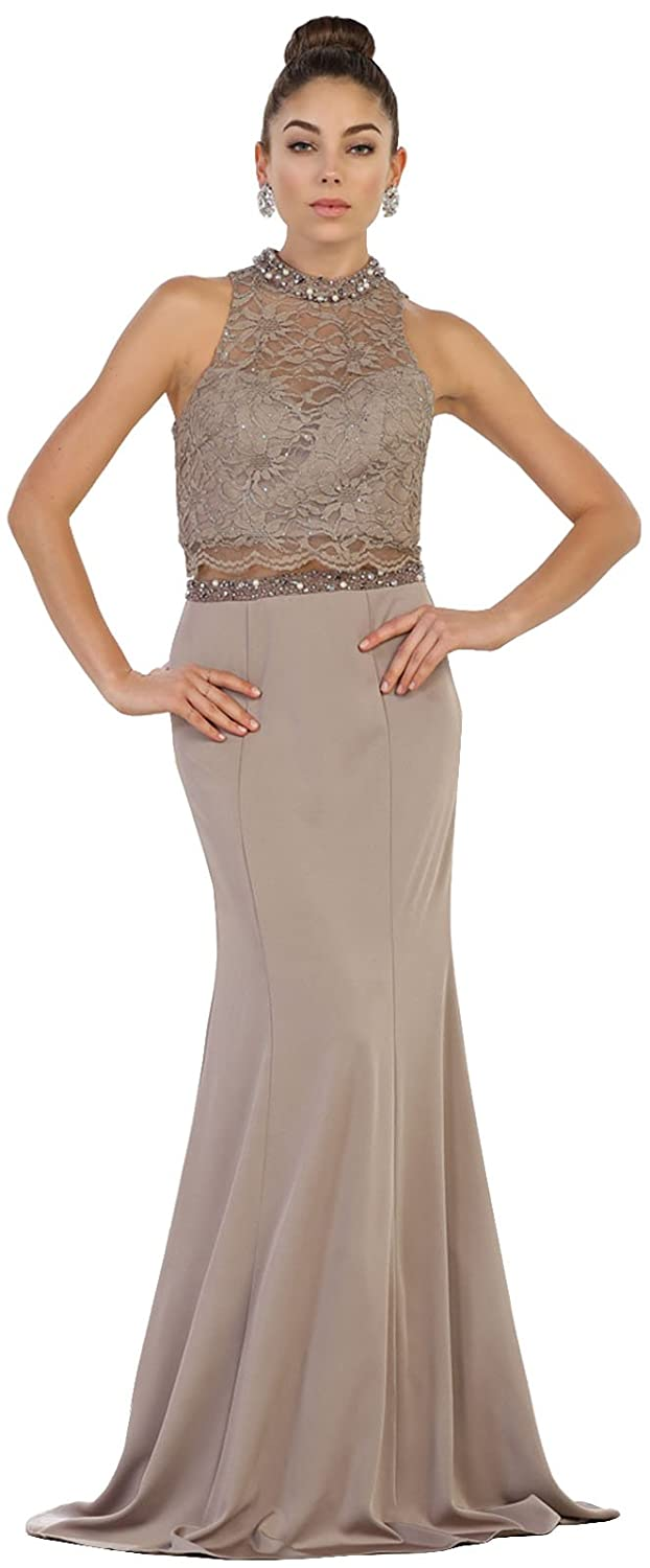 new to buy great deals on fashion May Queen MQ1527 Prom Stretchy Designer Evening Gown at ...
