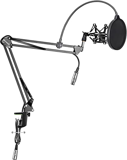 Neewer Pack de NW-35 Soporte de micrófono de brazo suspensión de ...
