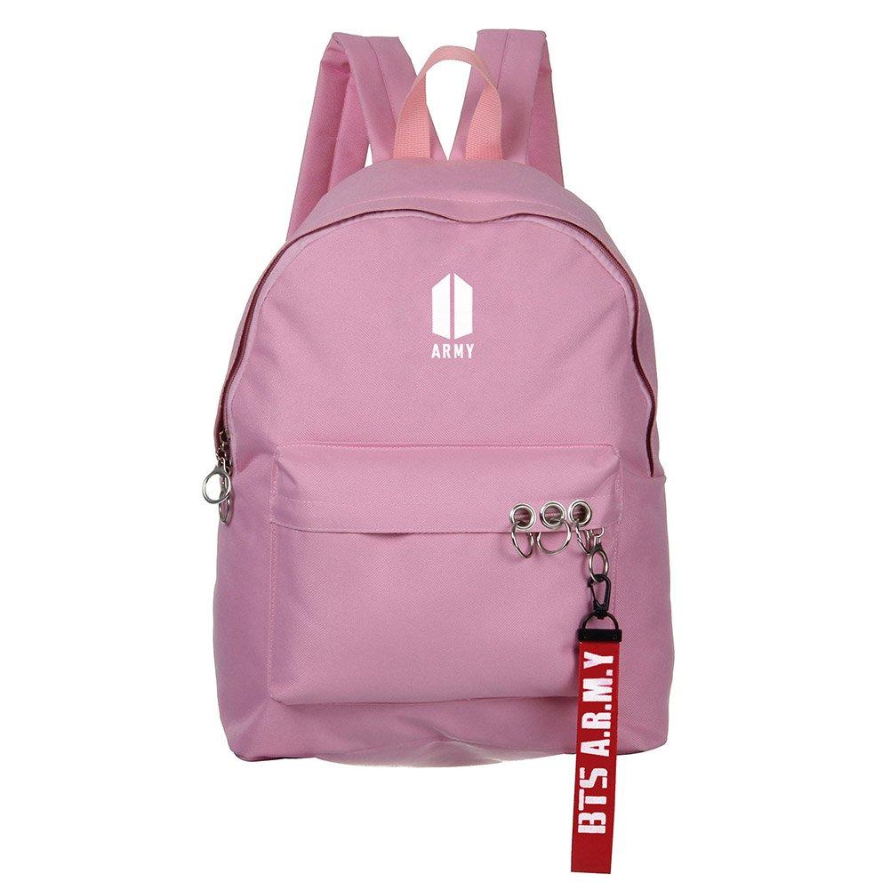 Bosunshine BTS Love Yourself V Suga Jin Jimin Jung Kook Casual Backpack Daypack Laptop Bag College Bag Book Bag School Bag with Hat PK1 by Bosunshine (Image #2)