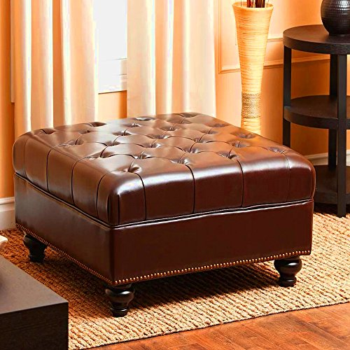 Upholstered Ottoman Tray Entryway Bench Upholstered Cushion Living Room Bedroom Ottoman Furniture Unique Frame Home Indoor Step Stool & Ebook by Easy 2 Find. by STS SUPPLIES LTD
