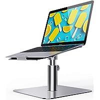 Laptop Stand Adjustable, Ohuhu Ergonomic Aluminum Notebook Computer Holder, Multi-Angle & 360 Rotating Laptop Riser for…