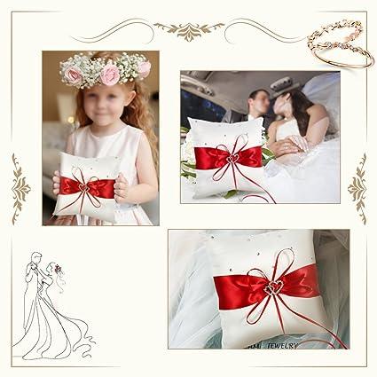 Amazon.com: 7.9 inch × 65.6 foot novia boda bolsillo anillo ...