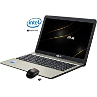 "Asus VivoBook Notebook, Display 15.6 "" HD LED, Intel Dual Core 64 bit fino a 2.4Ghz 4GB RAM, Hdd 500GB, Windows 10 PRO [layout italiano] 3 porte usb Hdmi Dvd cd r wifi bt pronto all'uso"
