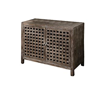 Crestview Collection Rustic Buffet Cabinet