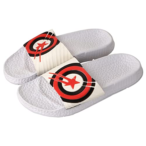 b03a0ea15 Falcon18 Men s Slide Slippers and Flip-Flops in Captain America Design (6