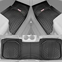 $45 » Motor Trend OF-933-BK Deep Dish Rubber Floor Mats All-Climate All Weather Performance Plus…