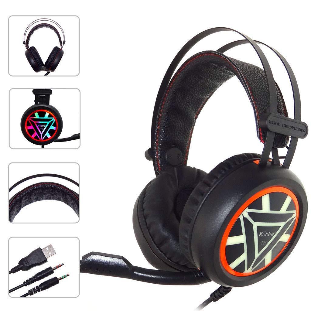 WowPower Kubite Ver-Ear Teens with MIC Foldable DJ Headphones 3.5mm Wired Game Earphones by WowPower (Image #2)
