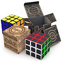 aGreatLife Speed Cube Bundle: Two Best Selling 3x3 Speed Cubes in One Set - Fun and Excitement in Two Super Durable High Speed Puzzle Cubes