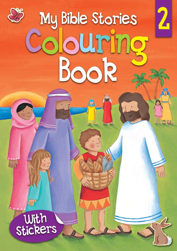 Read Online My Bible Stories Colouring Book 2 PDF