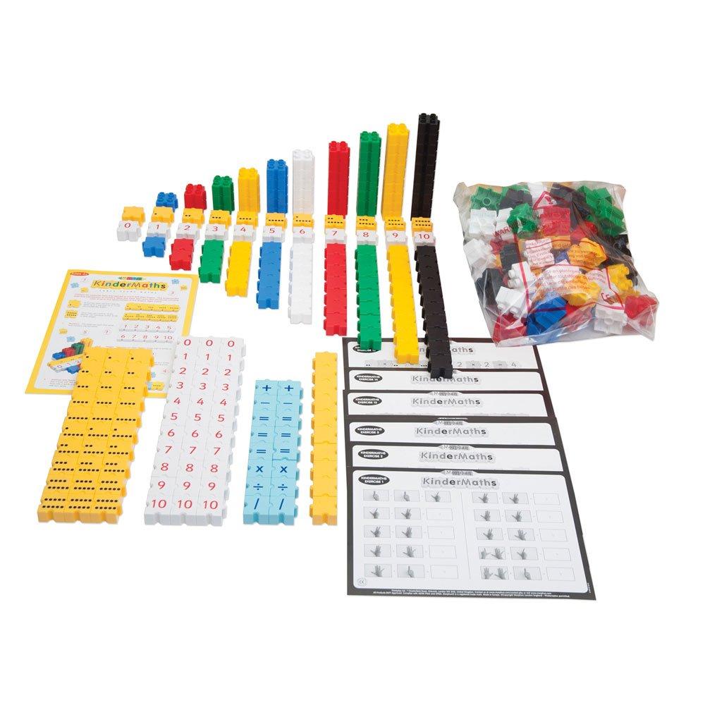 Morphun 43162B Kinder Maths - Juego de 2 Ladrillos de construcción