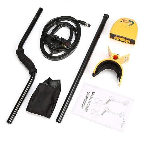 Dailyinshop Detector de Metales subterráneo Portable portátil del Detector de Metales MD6250 Buscador de buscador de